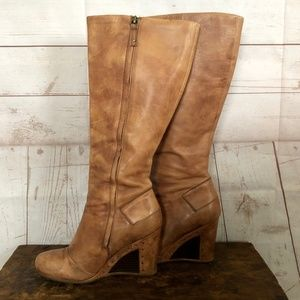 UGG Kendrick Leather wedge heel Boots